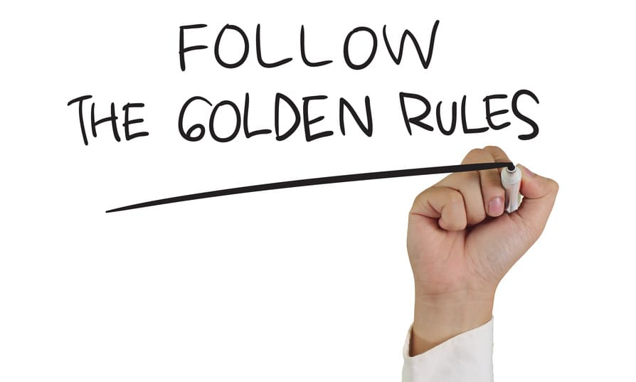 golden rules of property investment