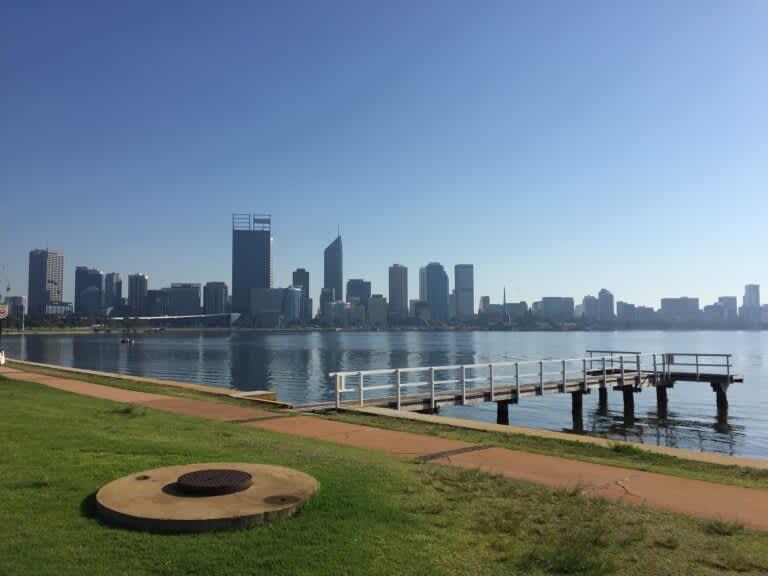 City of Perth, Australia Skyline